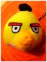PUPAZZO PELUCHE ANGRY BIRDS + VENTOSA 10 CM GIALLO NEWS TRATTO D