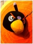 PUPAZZO PELUCHE ANGRY BIRDS + VENTOSA 10 CM NERO NEWS TRATTO DAL