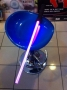 Spada laser light saber Star Wars pile incluse h70cm x 4cm