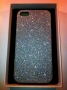 custodia rigida per Apple iPhone 5 colore silver glitter