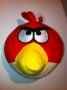 PUPAZZO PELUCHE ANGRY BIRDS + VENTOSA 10 CM ROSSO NEWS TRATTO DA