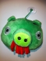 PUPAZZO PELUCHE ANGRY BIRDS + VENTOSA 10 CM VERDE 1 NEWS TRATTO