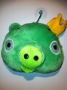 PUPAZZO PELUCHE ANGRY BIRDS + VENTOSA 10 CM VERDE 3 NEWS TRATTO