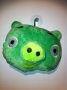 PUPAZZO PELUCHE ANGRY BIRDS + VENTOSA 10 CM VERDE 4 NEWS TRATTO