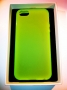 custodia morbida per Apple iPhone 5 colore verde opalizzata new