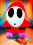 fantasma Shy guy NEW super Mario bros 14 cm peluche