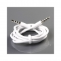 cavo Jack AUX 3,5 mm 1 metro bianco per iPhone iPad Smartphone