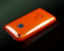 cover custodia arancione Iphone 3G - 3GS + film protettivo antib