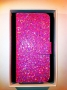 cover custodia per Apple iPhone 5 versione Strass fucsia