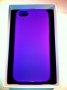 custodia morbida per Apple iPhone 5 colore viola opalizzata new