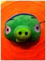 PUPAZZO PELUCHE ANGRY BIRDS + VENTOSA 10 CM VERDE 2 NEWS TRATTO