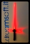 Spada laser Star Wars Kylo Ren light saber luci rosso e suoni