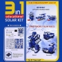 kit transformers 3  robot solare